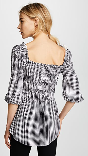 Ella Moon Gingham Blouse