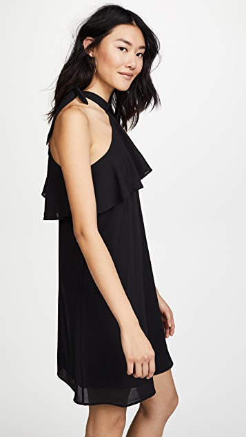 Ella Moon Pleat Sleeve Dress