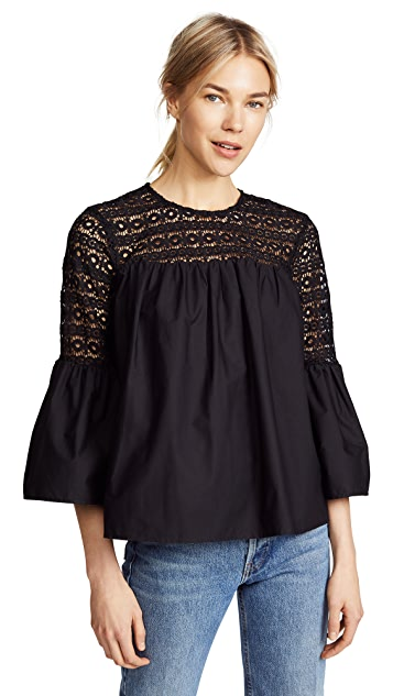 endless rose Boho Blouse