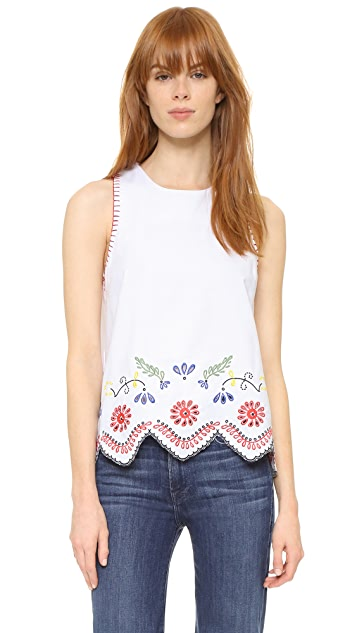 endless rose Embroidered Blouse