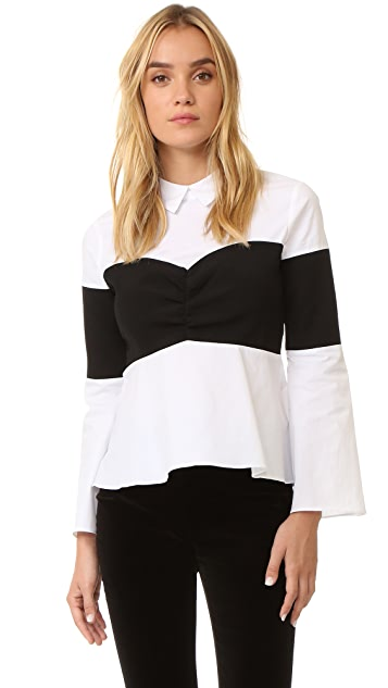 endless rose Collared Blouse