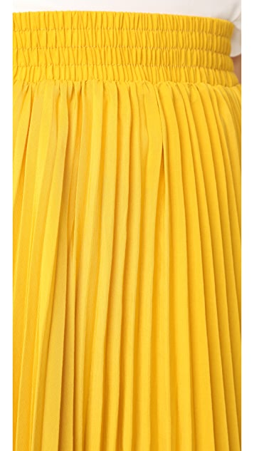 endless rose Pleated Long Skirt