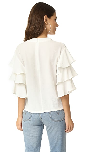 endless rose Ruffle Shirt
