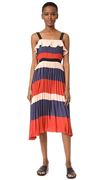 endless rose Pleated Maxi Dress