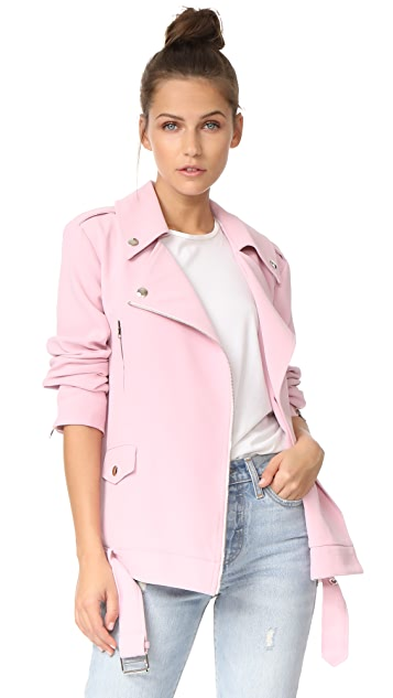 endless rose Oversized Moto Jacket