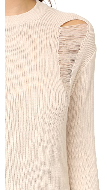 endless rose Long Knit Sweater