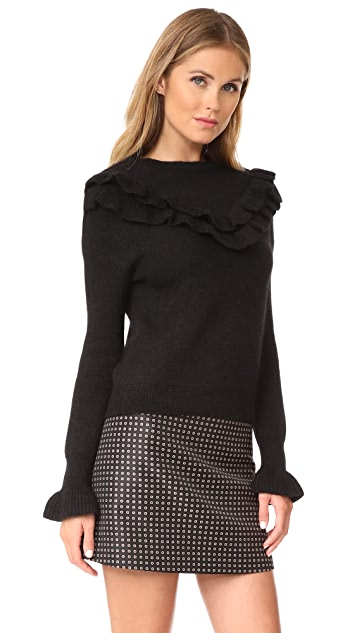 endless rose Ruffle Sweater