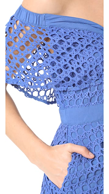 endless rose Crochet Dress