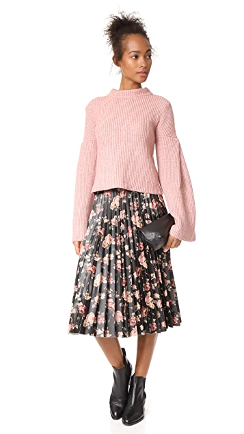 endless rose Bell Sleeve Sweater