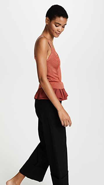 endless rose Knit Tank Top