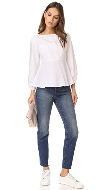 endless rose Peplum Blouse