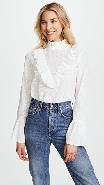 endless rose Ruffled Blouse