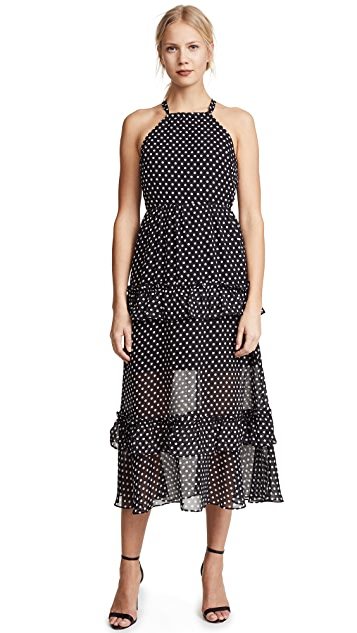 endless rose Polka Dot Maxi Dress