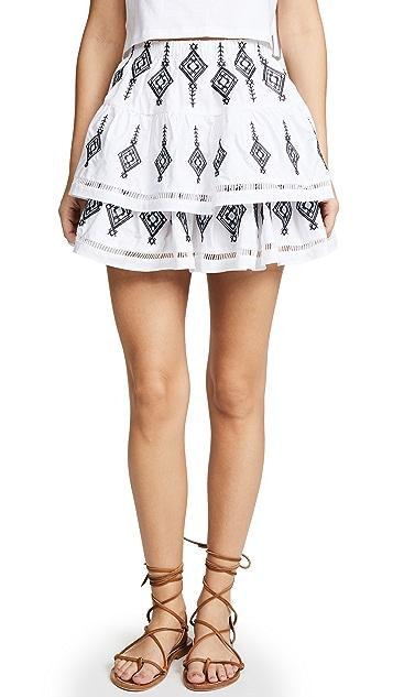 endless rose Shirred Mini Skirt