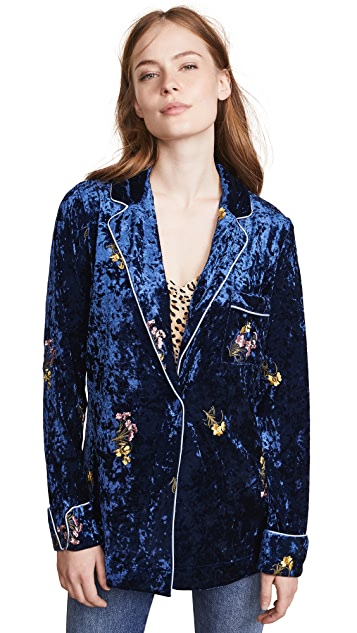 endless rose Velvet Pajama Shirt
