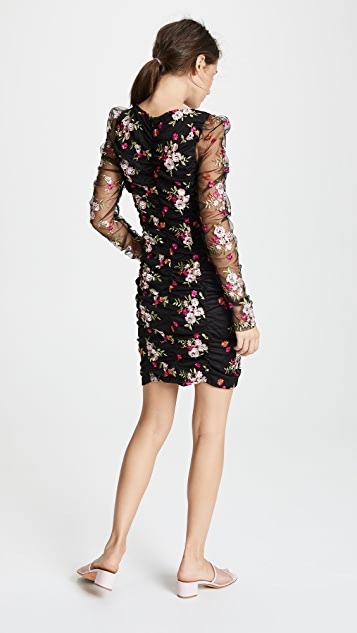 endless rose Ruched Mini Dress