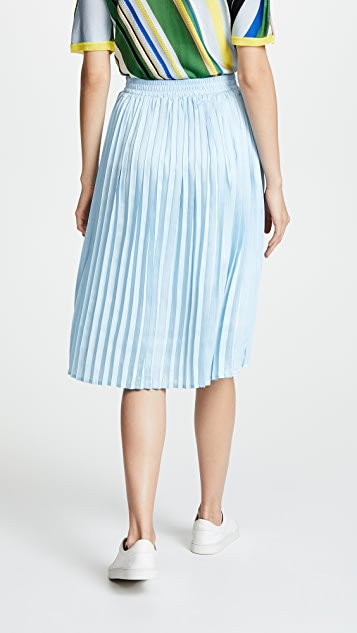 endless rose Pleated Midi Skirt