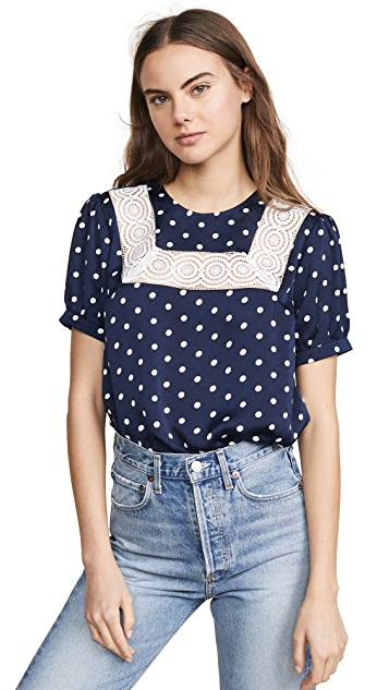 endless rose Polka Dot Top
