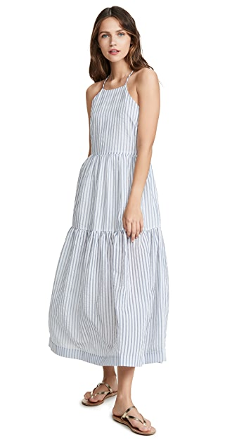 endless rose Striped Maxi Dress