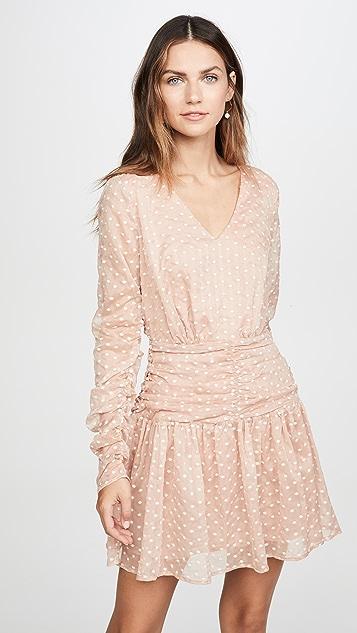 endless rose Мини-платье в горошек
