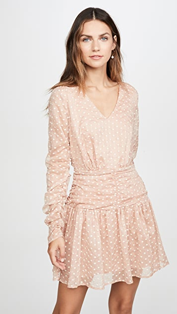 endless rose Polka Dot Mini Dress