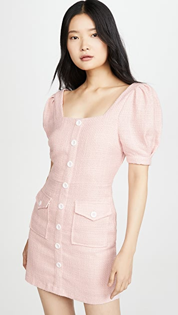 endless rose Button Down Mini Dress