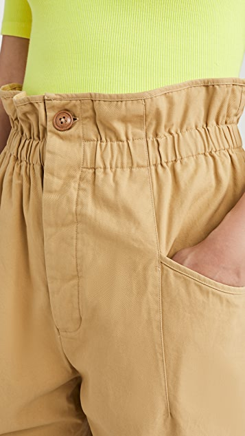 endless rose 弹性腰部工装裤