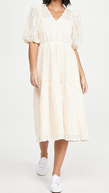 endless rose Tiered Boho Dress
