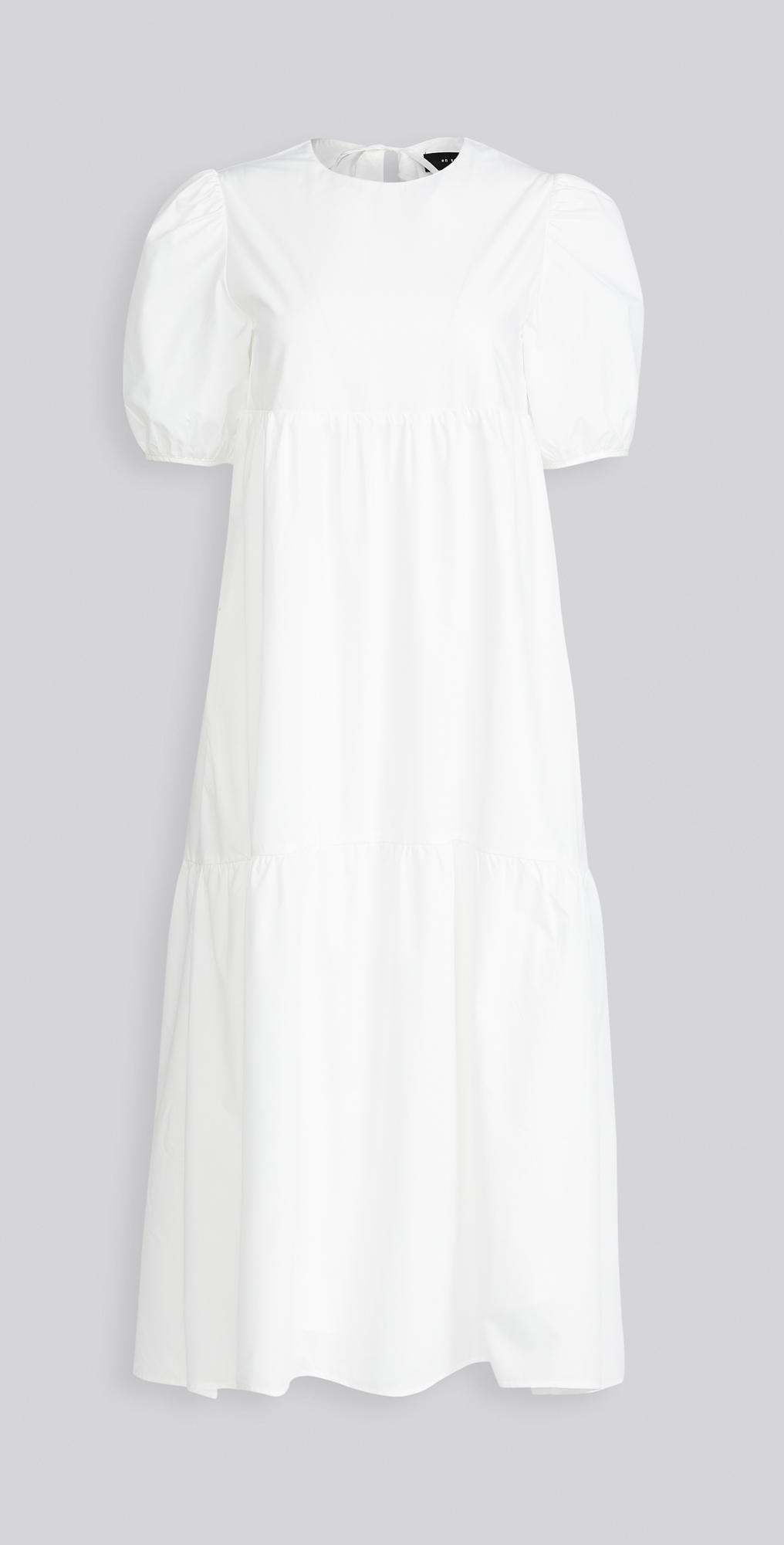 En Saison Poplin Midi Dress   SHOPBOP