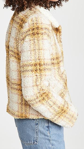 En Saison 格子夹克