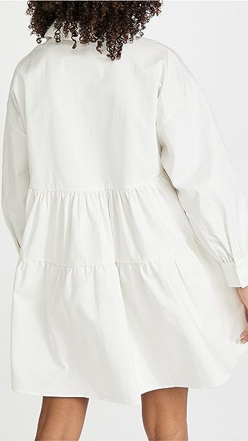 En Saison Cotton Poplin Mini Dress