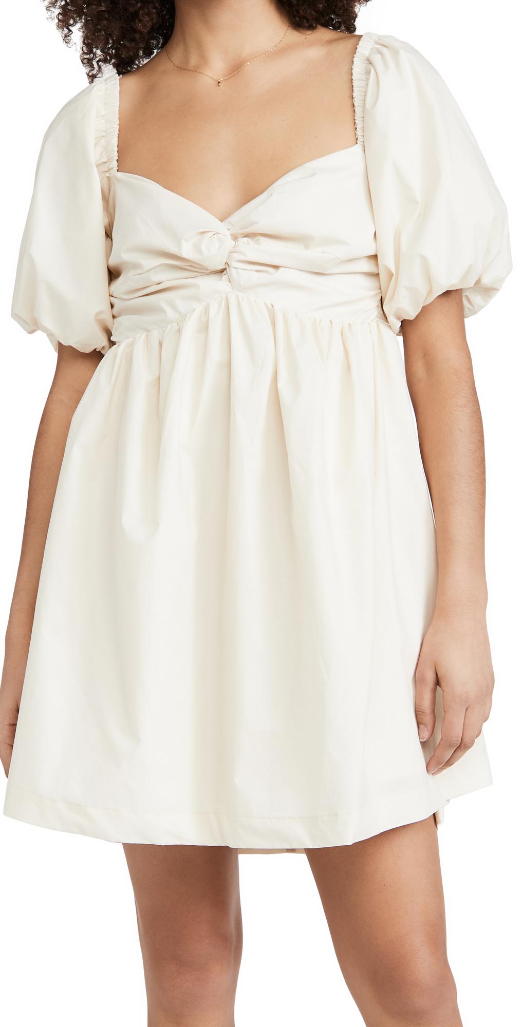 Poplin Babydoll Dress