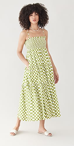 En Saison - Smocked Midi Dress