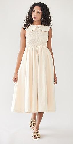En Saison - Poplin Midi Dress
