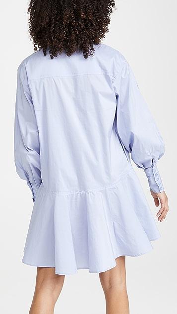 En Saison 府绸衬衣连衣裙