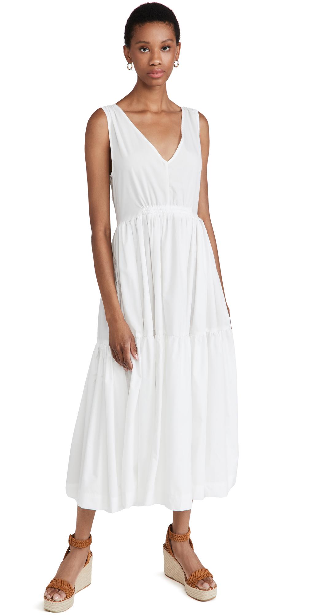 Sleeveless V-Neck Sun Dress