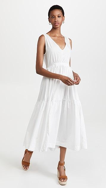 En Saison Sleeveless V-Neck Sun Dress