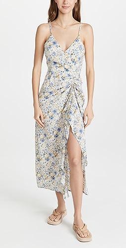 En Saison - Floral Midi Slip Dress