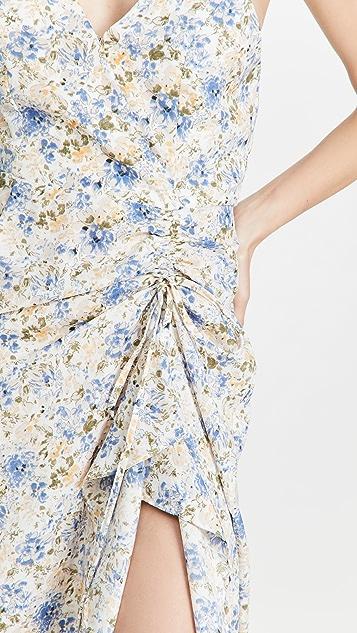 En Saison Floral Midi Slip Dress