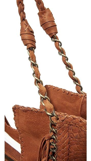 En Shalla Chain & Fringe Bag