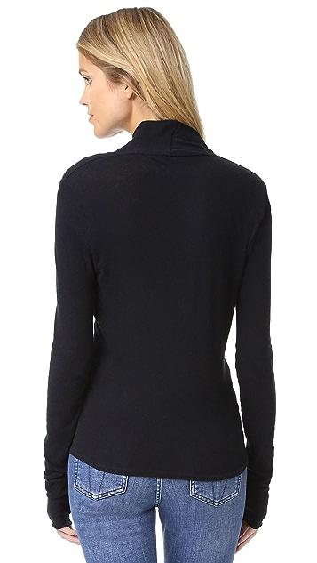 Enza Costa Ballet Wrap Sweater