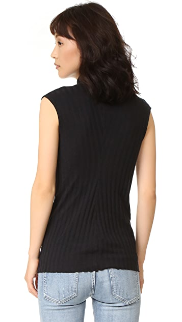 Enza Costa Turtleneck Top