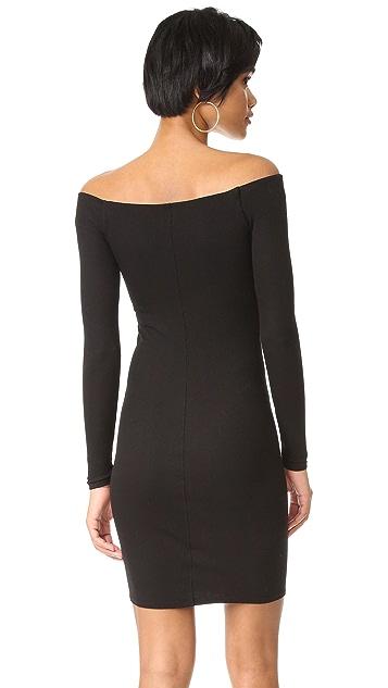 Enza Costa Off Shoulder Mini Dress