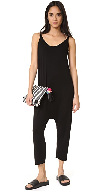 Enza Costa Strappy Rise Jumpsuit