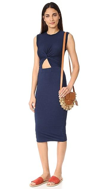 Enza Costa Twist Front Dress