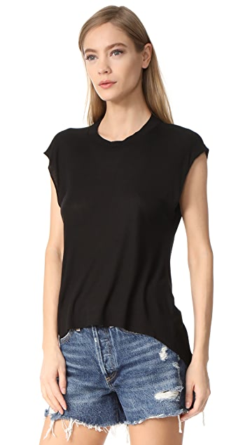 Enza Costa Ribbed Tee