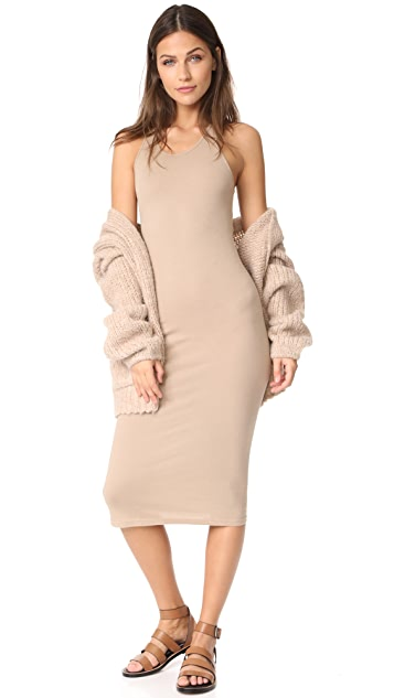 Enza Costa Bold Racer Midi Dress