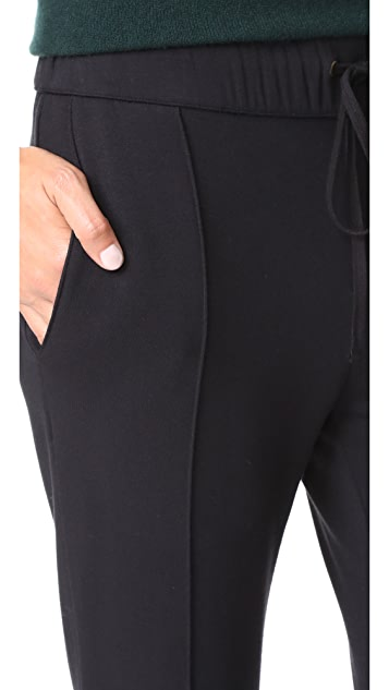 Enza Costa Straight Leg Sweatpants