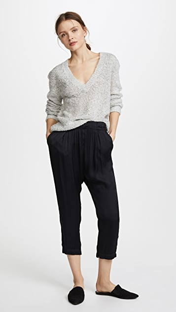 Enza Costa Long Rise Pants