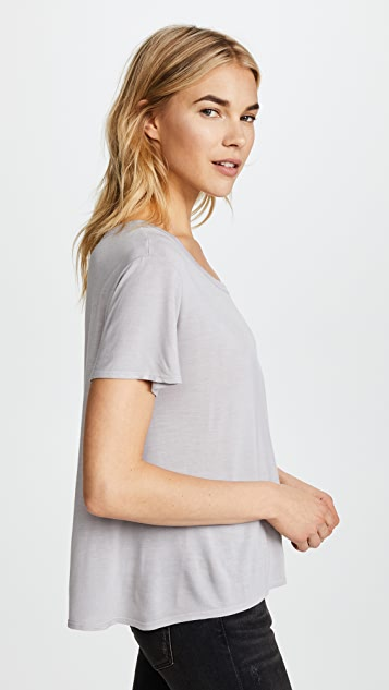 Enza Costa Cutout Boy Tee